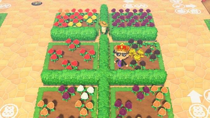 あつ森 花畑
