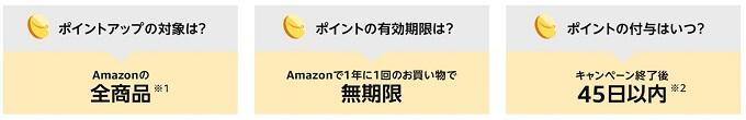 amazon夏先取りセールのポイントアップキャンペーン