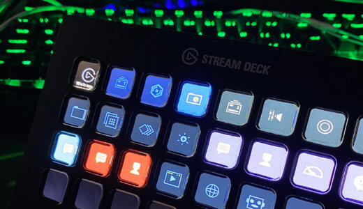 【Elgato Stream Deck XL レビュー】配信からブログまで作業効率が上がるショートカットキーボード!