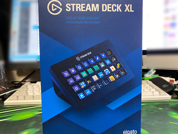 stream deck XL 化粧箱