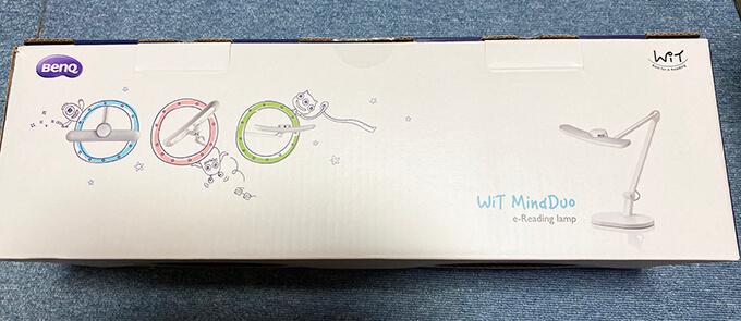 BenQ Wit MindDuoの化粧箱