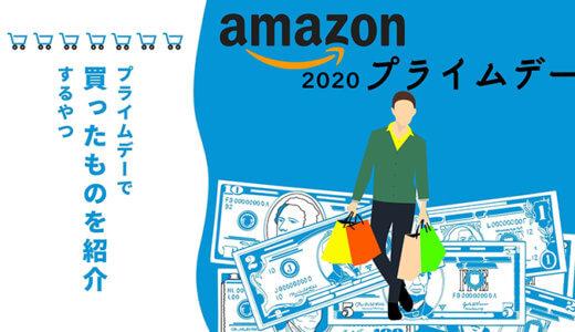 【2020年Amazonプライムデー】実際に買ったものをまとめて紹介するやつ