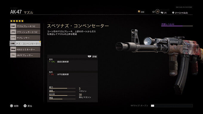AK-47-スペツナズコンペンセーター