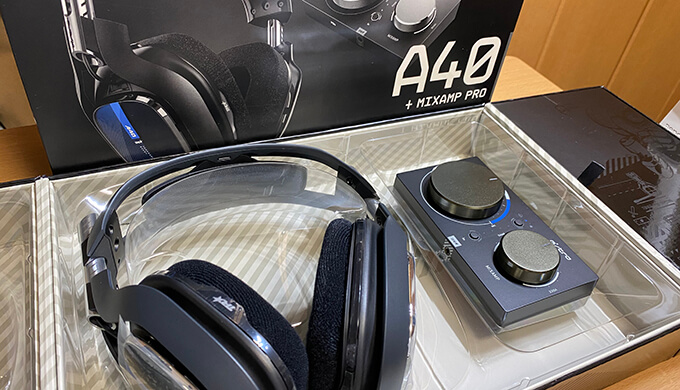 ASTRO Gamingヘッドセット A40TR+MixAmp Pro TR