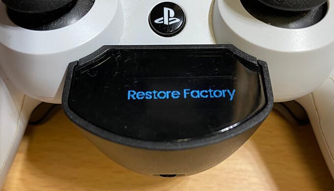 restore factory